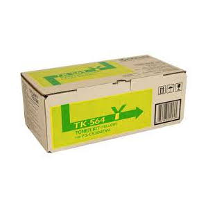 Kyocera TK-564Y Yellow Toner Kit to suit Printer: FS-C5300DN (10,000 Yield)