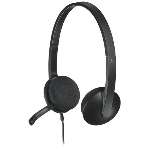 Logitech 981-000427 USB Headset H340