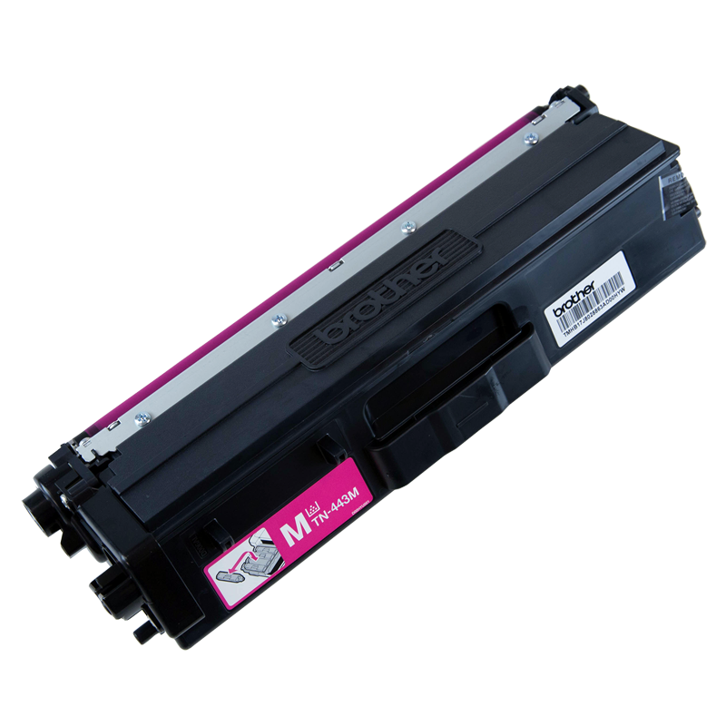 Brother TN-443M High Yield Magenta Toner, 4000 Pages