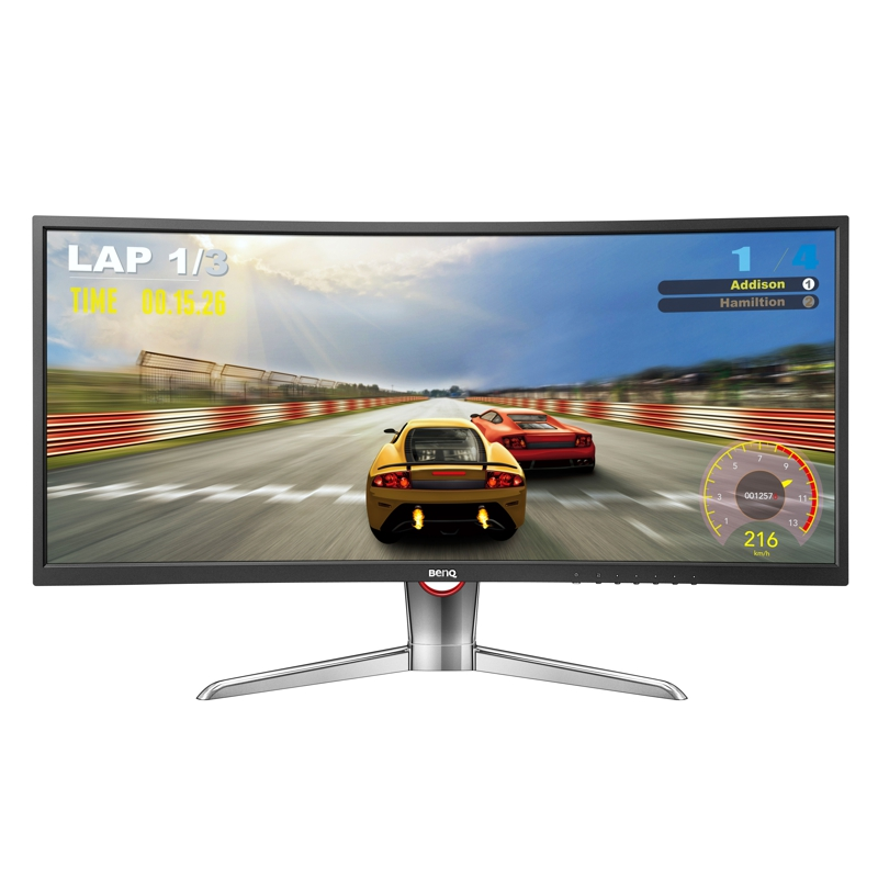BenQ XR3501 35 Inch Ultra Widescreen Curved LED, 21:9, 4ms, 2560x1080, 144Hz, 2000R Curvature, 2 x HDMI,