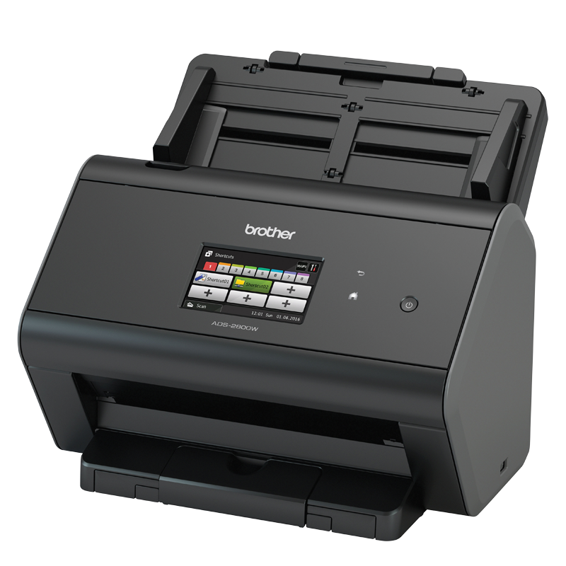 Brother ADS-2800W Advanced Document Scanner, High Speed (30pp), Network scanner