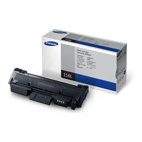Samsung MLT-D116L Black Toner to suit SL-M2825DW, SL-M2875FW - 3,000 Pages @ 5%