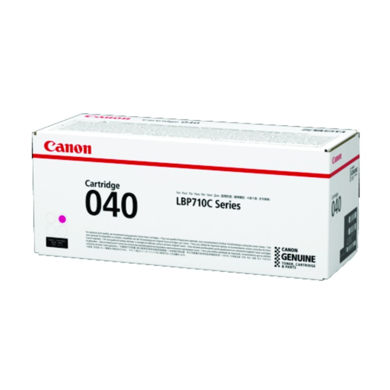 Canon CART040M, Magenta Toner Cartridge to suit LBP712CX (Yield, up to 5,400 pages)