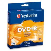 Verbatim DataLife DVD-R 4.7GB 10 Pack Spindle 16x