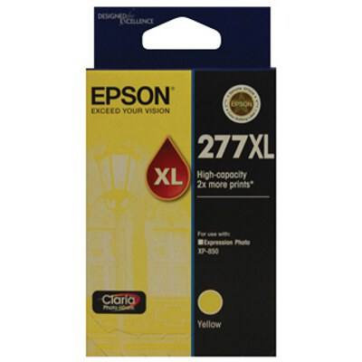 Epson C13T278492 High Capacity Claria Photo HD Yellow ink (Yields up to 740 pages)