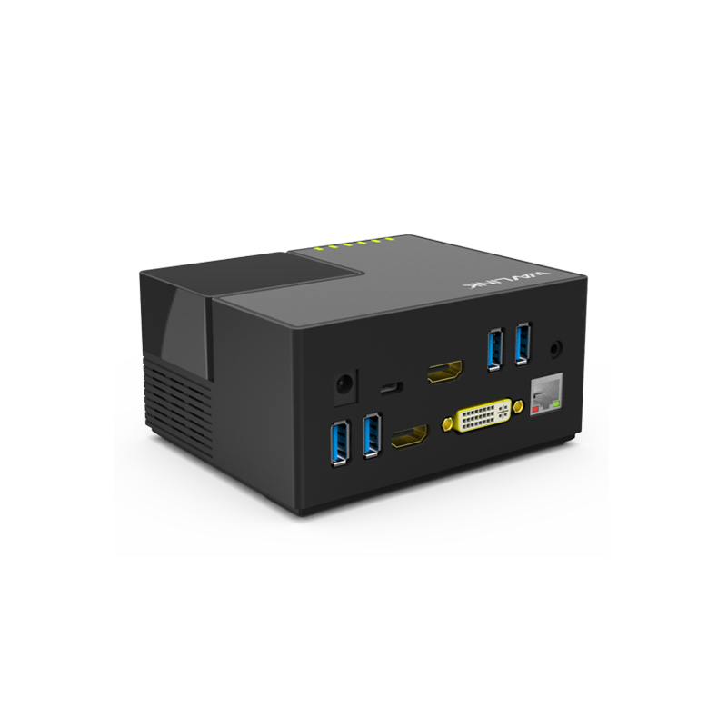 Wavlink WL-UG39DK3 USB 3.0 Universal Docking Station with Gigabit Ethernet