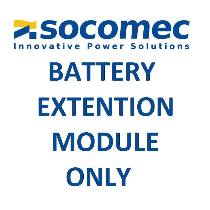 Socomec NPR-B1700-RT battery extension module for 1700VA Tower/Rack UPS