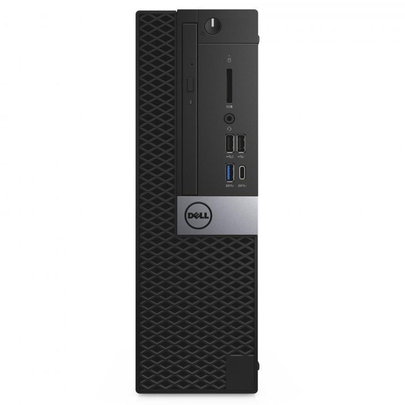 Dell Optiplex 5060 SFF, Core i5-8500 3.0/4.1Ghz, 8GB, 256GB SSD, DVDRW, Win 10 Pro 64, 3 Yr