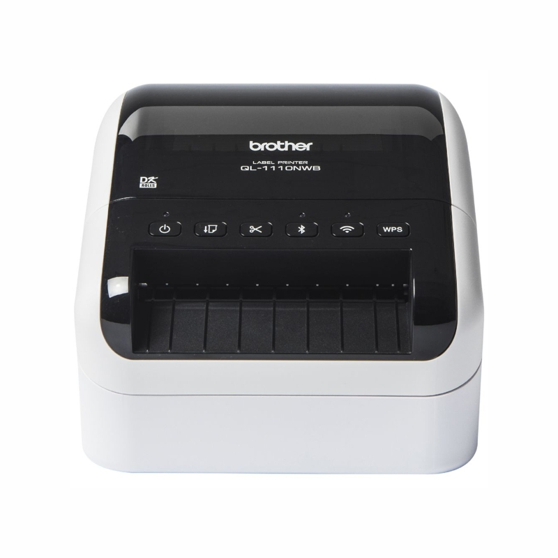 Brother QL-1110NWB Professional Wide Format Label Printer with Bluetooth and Wireless