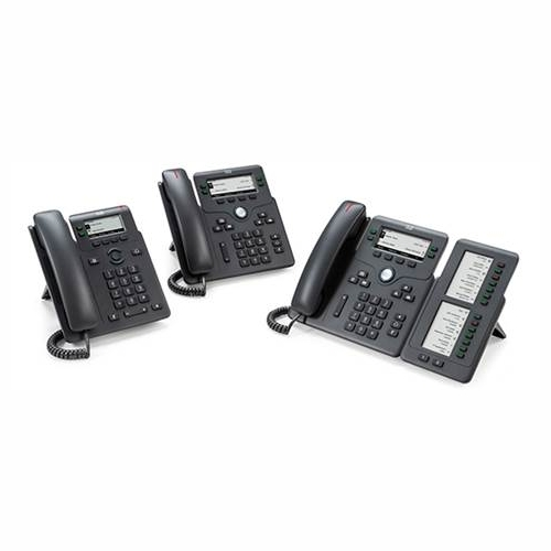 Cisco CP-6851 4-Line IP Phone with Display, PoE and Gigabit PC Port