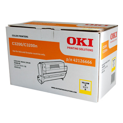 OKI Yellow Drum Unit to suit C3200 (22000 Yield)