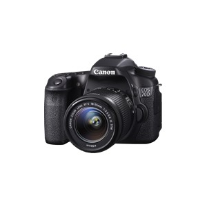 Canon EOS 70D Single IS Lens Kit