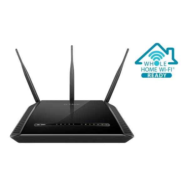 DLink DSL-2888A PYTHON - Dual Band Wireless AC1600 Gigabit ADSL2+/VDSL2 Modem Router