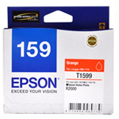 Epson C13T159990 Orange ink cartridge for Stylus Photo R2000