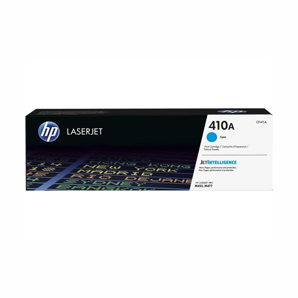 HP CF411A #410A Cyan Toner Cartridge (2,300 Yield)