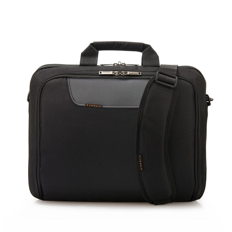 Everki EKB407NCH 16 Inch Advance Compact Notebook Briefcase/Carry Bag