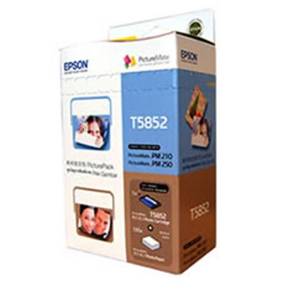 Epson C13T585290 Picture Pack - 150 Sheets of Photo Paper Plus Ink Cartridge
