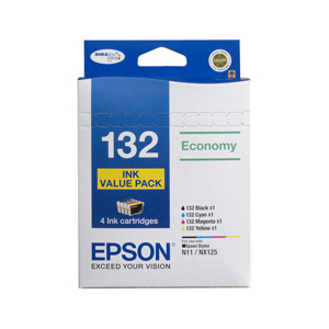 Epson C13T132692 Economy 4 Ink cartridge VALUE PACK
