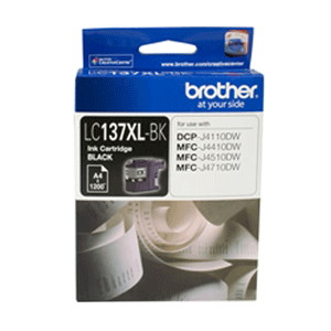 Brother LC-137XLBK High Yield Black Ink Cartridge