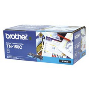Brother TN-150C Cyan Toner Cartridge (1500 Yield)