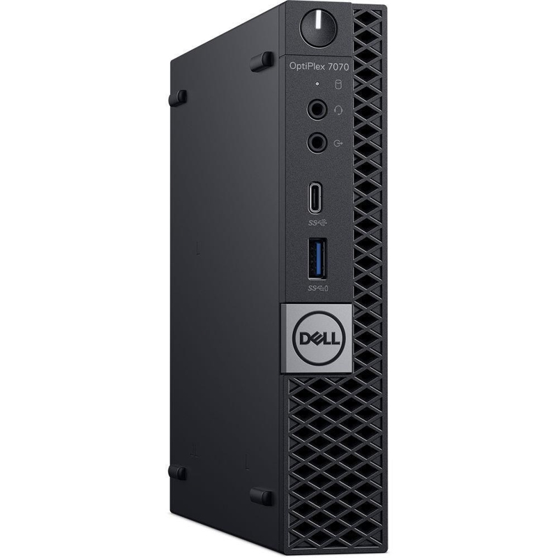 Dell Optiplex 7070 MFF, Core i7-9700 3.0/4.7Ghz, 16GB, 512GB SSD, Win 10 Pro 64, 3 Year