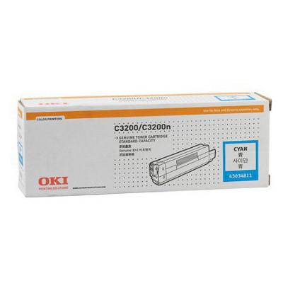 OKI Cyan Toner Cartridge to suit C3200 (1500 Yield)
