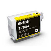 Epson C13T760400 UltraChrome HD, Yellow Ink Cartridge