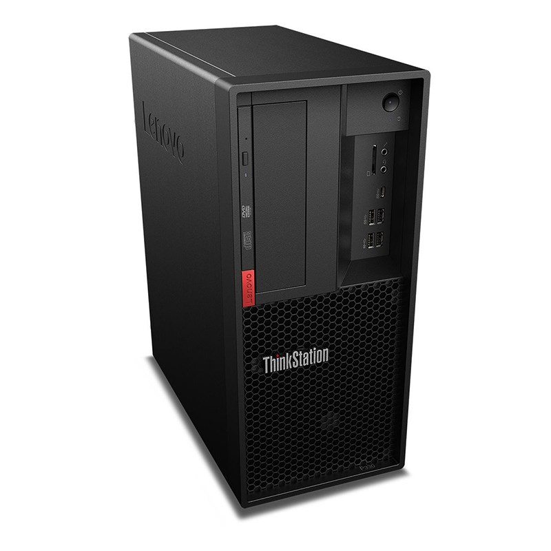 Lenovo P330 Tower, Xeon E-2224G, 16GB, 512GB SSD, P400-2GB, DVDRW, Win 10 Pro 64, 3 Year