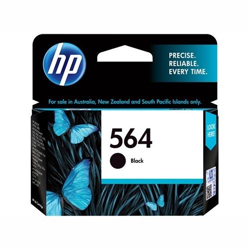 HP CB316WA #564 Black Ink Cartridge (250 page yield)