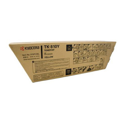 Kyocera TK-810Y Yellow Toner Cartridge