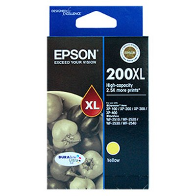 Epson C13T201492 High Capacity Ultra Yellow Ink (Yields up to 450 pages)