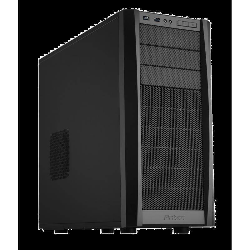 Antec ANTEC302 Three Hundred-Two ATX Tower, 11 Drive Bays, No PSU, USB3.0